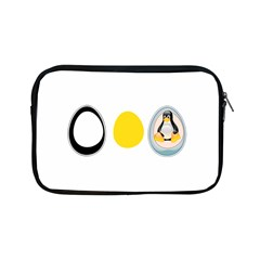 Linux Tux Penguin In The Egg Apple Ipad Mini Zippered Sleeve by youshidesign