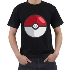 Pokeball Mens' T Shirt (black)