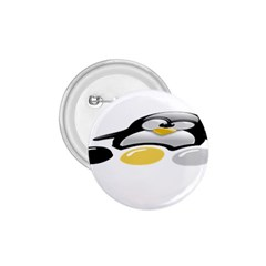 Linux Tux Pengion And Eggs 1 75  Button by youshidesign