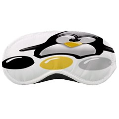Linux Tux Pengion And Eggs Sleeping Mask by youshidesign
