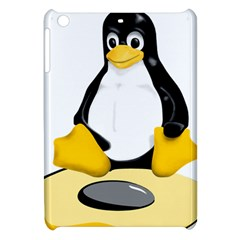 Linux Black Side Up Egg Apple Ipad Mini Hardshell Case by youshidesign