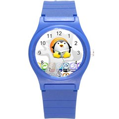 Linux Versions Plastic Sport Watch (small) by youshidesign