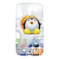Linux Versions Samsung Galaxy S4 I9500/i9505 Hardshell Case by youshidesign