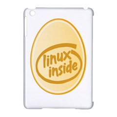 Linux Inside Egg Apple Ipad Mini Hardshell Case (compatible With Smart Cover) by youshidesign