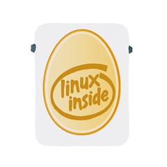 Linux Inside Egg Apple Ipad Protective Sleeve by youshidesign
