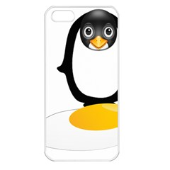 Linux Tux Pengion Oops Apple Iphone 5 Seamless Case (white) by youshidesign