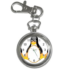 Linux Tux Penguins Key Chain & Watch by youshidesign