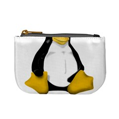 Linux Tux Contra Sit Coin Change Purse by youshidesign