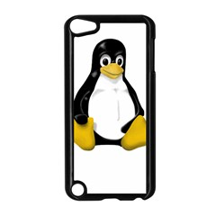 Linux Tux Contra Sit Apple Ipod Touch 5 Case (black) by youshidesign