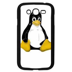 Linux Tux Contra Sit Samsung Galaxy Grand Duos I9082 Case (black) by youshidesign
