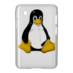 Linux Tux Contra Sit Samsung Galaxy Tab 2 (7 ) P3100 Hardshell Case  by youshidesign