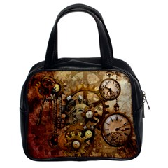 Steampunk Classic Handbag (two Sides) by Ancello
