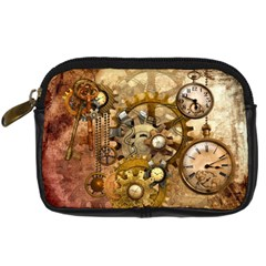 Steampunk Digital Camera Leather Case by Ancello