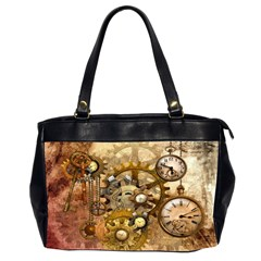 Steampunk Oversize Office Handbag (two Sides) by Ancello