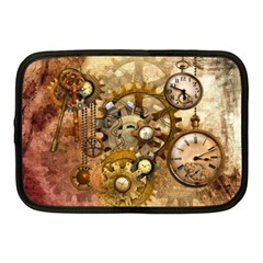 Steampunk Netbook Sleeve (medium) by Ancello