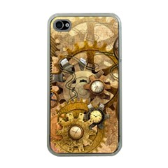 Steampunk Apple Iphone 4 Case (clear) by Ancello
