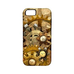 Steampunk Apple Iphone 5 Classic Hardshell Case (pc+silicone) by Ancello