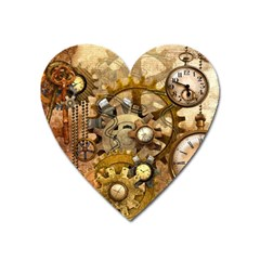 Steampunk Magnet (heart) by Ancello
