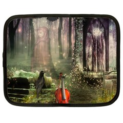 Last Song Netbook Sleeve (large) by Ancello