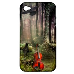 Last Song Apple Iphone 4/4s Hardshell Case (pc+silicone) by Ancello