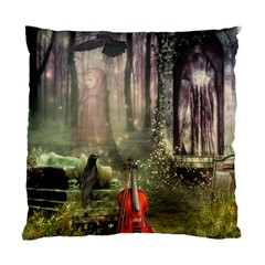 Last Song Cushion Case (single Sided)  by Ancello