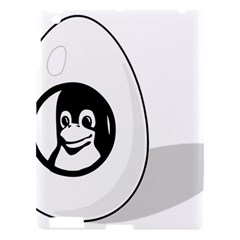 Liux Tux Egg Brand Apple Ipad 3/4 Hardshell Case by youshidesign