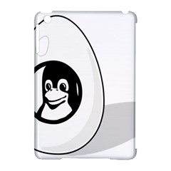 Liux Tux Egg Brand Apple Ipad Mini Hardshell Case (compatible With Smart Cover) by youshidesign