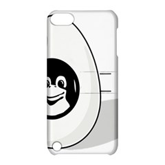 Liux Tux Egg Brand Apple Ipod Touch 5 Hardshell Case With Stand by youshidesign