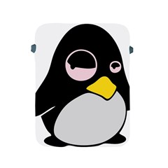 Lazy Linux Tux Penguin Apple Ipad Protective Sleeve by youshidesign