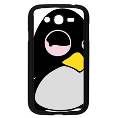 Lazy Linux Tux Penguin Samsung Galaxy Grand Duos I9082 Case (black) by youshidesign