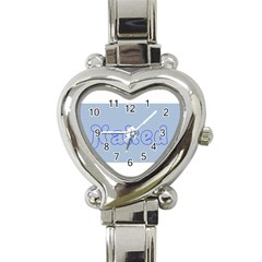 1logo2 Heart Italian Charm Watch  by buttnakedtees