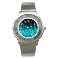 Glitter Dust 1 Stainless Steel Watch (slim) by MedusArt