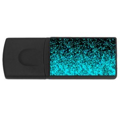 Glitter Dust 1 4gb Usb Flash Drive (rectangle) by MedusArt