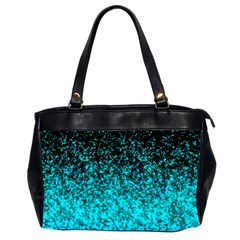 Glitter Dust 1 Oversize Office Handbag (two Sides) by MedusArt