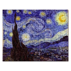 Vincent Van Gogh Starry Night Jigsaw Puzzle (rectangle) by fineartgallery