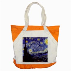 Vincent Van Gogh Starry Night Accent Tote Bag by MasterpiecesOfArt