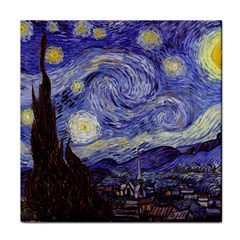 Vincent Van Gogh Starry Night Face Towel