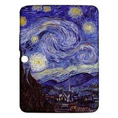 Vincent Van Gogh Starry Night Samsung Galaxy Tab 3 (10 1 ) P5200 Hardshell Case  by MasterpiecesOfArt