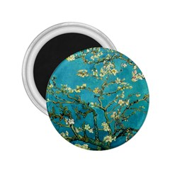 Vincent Van Gogh Blossoming Almond Tree 2 25  Button Magnet by fineartgallery