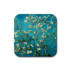 Vincent Van Gogh Blossoming Almond Tree Drink Coasters 4 Pack (square) by MasterpiecesOfArt