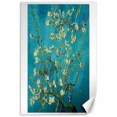 Vincent Van Gogh Blossoming Almond Tree Canvas 24  X 36  (unframed) by MasterpiecesOfArt