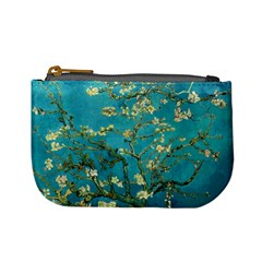 Vincent Van Gogh Blossoming Almond Tree Coin Change Purse by fineartgallery