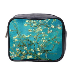 Vincent Van Gogh Blossoming Almond Tree Mini Travel Toiletry Bag (two Sides) by MasterpiecesOfArt
