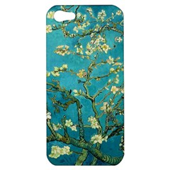 Vincent Van Gogh Blossoming Almond Tree Apple Iphone 5 Hardshell Case by MasterpiecesOfArt
