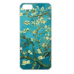 Vincent Van Gogh Blossoming Almond Tree Apple Iphone 5 Seamless Case (white) by MasterpiecesOfArt