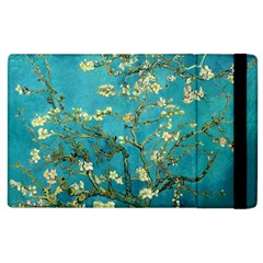 Vincent Van Gogh Blossoming Almond Tree Apple Ipad 3/4 Flip Case by MasterpiecesOfArt