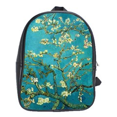 Vincent Van Gogh Blossoming Almond Tree School Bag (xl) by MasterpiecesOfArt
