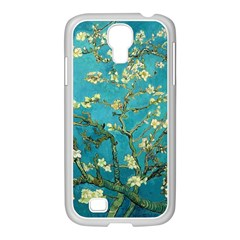 Vincent Van Gogh Blossoming Almond Tree Samsung Galaxy S4 I9500/ I9505 Case (white) by MasterpiecesOfArt