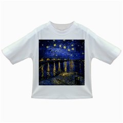 Vincent Van Gogh Starry Night Over The Rhone Baby T Shirt