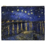 Vincent Van Gogh Starry Night Over The Rhone Cosmetic Bag (XXXL) Front